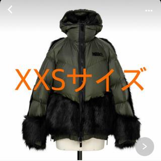 サカイ(sacai)の[新品未使用]希少XXSサイズ sacai x NIKE コラボ ダウンパーカー(ダウンジャケット)