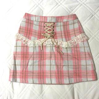 ハニーシナモン(Honey Cinnamon)のHONEY CINNAMON スカート(ミニスカート)