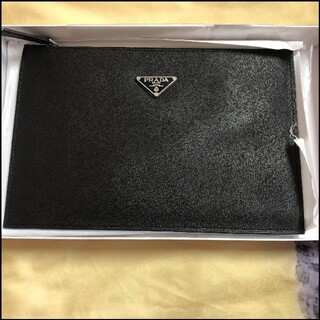 プラダ(PRADA)の特価 男性 二点セット クラッチバッグ 財布 PRADA(セカンドバッグ/クラッチバッグ)