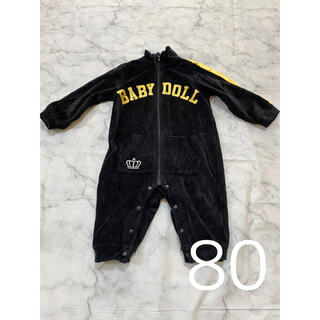 ベビードール(BABYDOLL)のBABYDOLL(ベビードール)ベビー服 赤ちゃん 男の子 ロンパース 80(ロンパース)