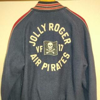 ザリアルマッコイズ(THE REAL McCOY'S)のリアルマッコイズ VF-17 JOLLY ROGER ウール スタジャン(フライトジャケット)