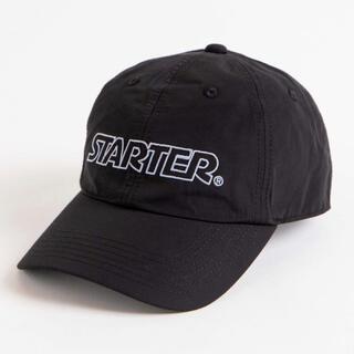 ステューシー(STUSSY)の新品 STARTER スターター 別注ローキャップ ブラック 黒 ユニセックス(キャップ)