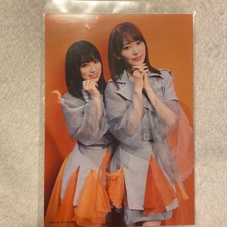 エイチケーティーフォーティーエイト(HKT48)の矢吹奈子 宮脇咲良 生写真(アイドルグッズ)