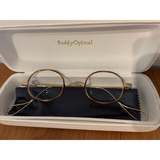 Ayame - BuddyOptical べっこうゴールド 丸メガネ