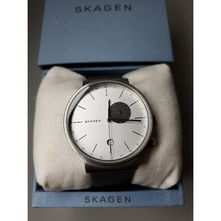 スカーゲン(SKAGEN)のSKAGEN メンズ ANCHER デュアルタイムウォッチ   SKW6319(腕時計(アナログ))