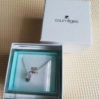 クレージュ(Courreges)のクレージュ ネックレス 未使用 箱付き(ネックレス)