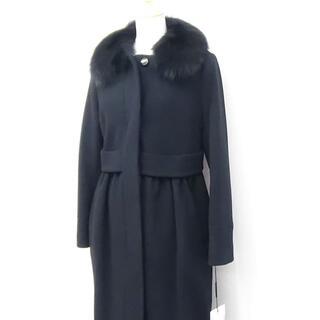ダブルスタンダードクロージング(DOUBLE STANDARD CLOTHING)のSov. のリアルファー付きコート タグ付未使用品です。  (毛皮/ファーコート)