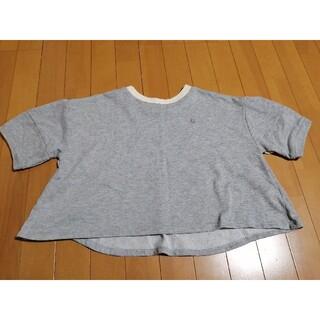 ポンポネット(pom ponette)のポンポネット グレー 今季秋物(Tシャツ/カットソー)
