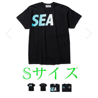 SEA - WIND AND SEA✖️F-LAGSTUF-FコラボSEAロゴTシャツ
