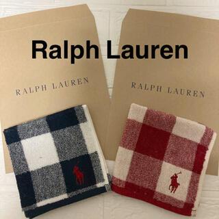 POLO RALPH LAUREN - 新品 ラルフローレン タオルハンカチ ミニタオル ハンカチ ガーゼタオルハンカチ