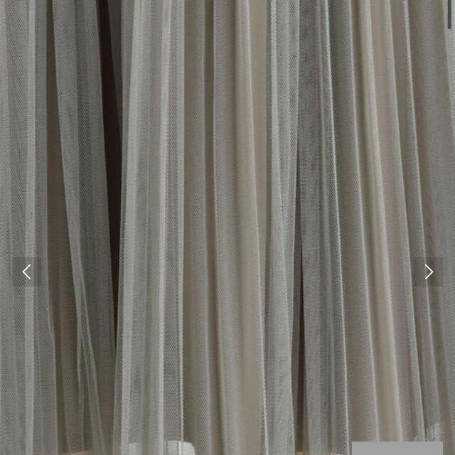 green label relaxing(グリーンレーベルリラクシング)のグリーンレーベルリラクシング  チュールフェードプリーツ スカート  レディースのスカート(ロングスカート)の商品写真