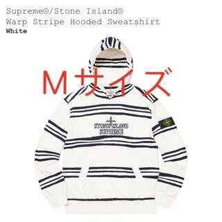 ストーンアイランド(STONE ISLAND)のSupreme stone island warp stripe (パーカー)