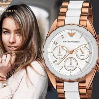 エンポリオアルマーニ(Emporio Armani)の11月30日頃までの出品!エンポリオアルマーニ AR5942 新品未使用(腕時計)