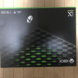 マイクロソフト(Microsoft)の新品未使用 Xbox Series X エコバッグ付(家庭用ゲーム機本体)