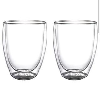 イケア(IKEA)のラス1 IKEA  イケア  PASSERAD パッセラド ダブルウォールグラス(グラス/カップ)