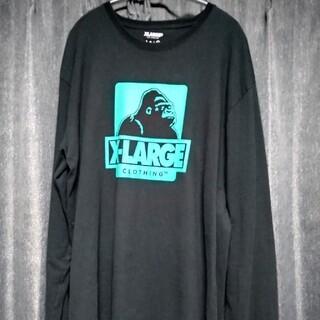 エクストララージ(XLARGE)のX-LARGE エクストララージ 黒 XL 送料込 長袖Tシャツ (Tシャツ/カットソー(七分/長袖))