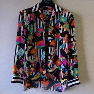 エルメス(Hermes)の超特価!! 80s エルメススカーフ柄シャツジャケット(シャツ)