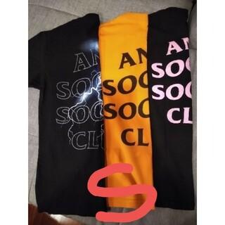 アンチ(ANTI)の[3pack]AntiSocialSocialClubTee [Sサイズ](Tシャツ/カットソー(半袖/袖なし))