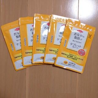 タイショウセイヤク(大正製薬)の大正製薬 おなかの脂肪が気になる方のタブレット 5袋(ダイエット食品)