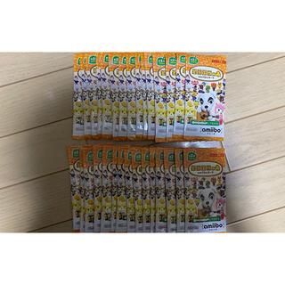 ニンテンドースイッチ(Nintendo Switch)のどうぶつの森 amiiboカード 第2弾 30パック ニンテンドー 任天堂(カード)