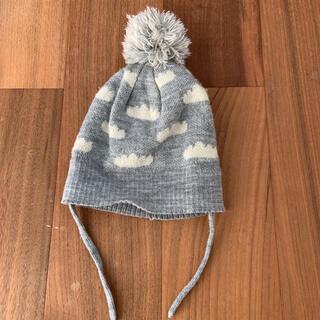 ザラキッズ(ZARA KIDS)のニット帽 ベビー ボンボン ザラベイビー 男女 帽子(帽子)