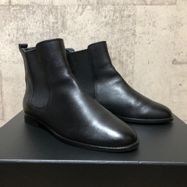 FABIO RUSCONI(ファビオルスコーニ)のWAG サイドゴアレザーブーツ 日本製 上質レザー 美品 レディースの靴/シューズ(ブーツ)の商品写真