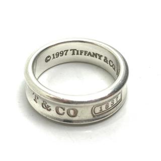 Tiffany & Co. - ティファニー シルバー リング 1837  20号 お洒落 アクセサリー