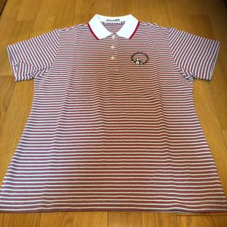 マンシングウェア(Munsingwear)のマンシングウェア  レディース ポロシャツ Mサイズ 赤白(ウエア)