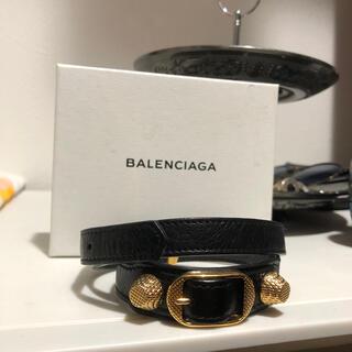 バレンシアガ(Balenciaga)の正規 バレンシアガ  レザーブレスレット(ブレスレット)