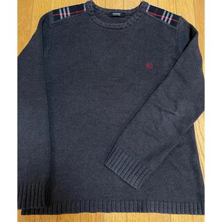 バーバリーブラックレーベル(BURBERRY BLACK LABEL)のバーバリー メンズ ニット 2 Mサイズ ブラックレーベル(ニット/セーター)