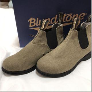 Blundstone - 新品 Blundstoneブランドストーン サイドゴア カーキ UK5