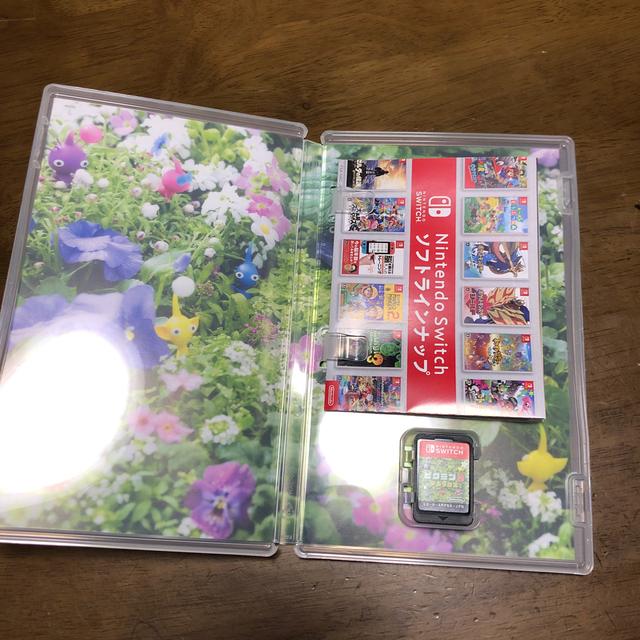 Nintendo Switch(ニンテンドースイッチ)のkappa555さん専用ピクミン3 デラックス Switch エンタメ/ホビーのゲームソフト/ゲーム機本体(家庭用ゲームソフト)の商品写真