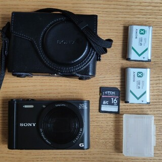 SONY - SONY サイバーショット DSC-WX350 (B)