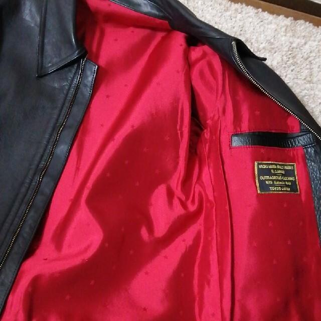 WACKO MARIA(ワコマリア)のwacko maria レザージャケット ライダースジャケット ワコマリア 牛革 メンズのジャケット/アウター(レザージャケット)の商品写真