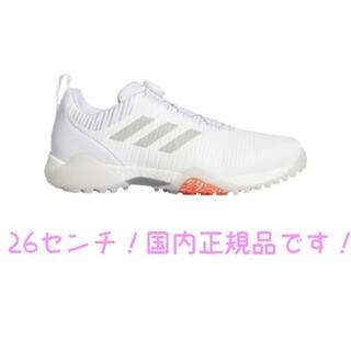 adidas - ゴルフシューズ コードカオス ボア ロウ ホワイト