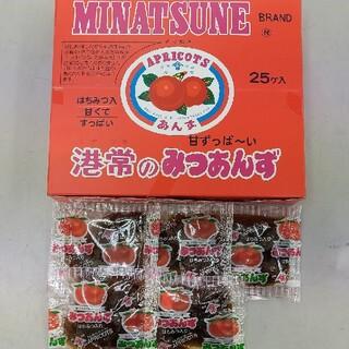 送料一律 箱なし 港常 みつあんず × 30袋(菓子/デザート)