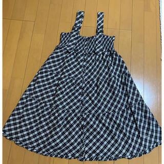 バーバリーブルーレーベル(BURBERRY BLUE LABEL)のバーバーリー ブルーレーベル ジャンパースカート(サロペット/オーバーオール)
