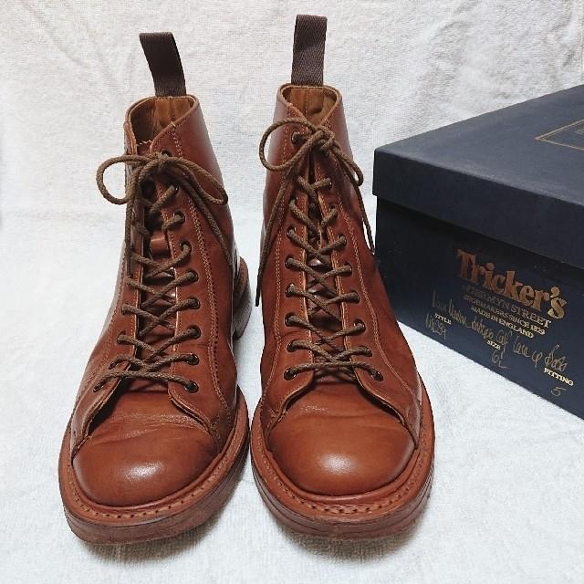 Trickers(トリッカーズ)のTricker's MONKEY BOOTS M6259 メンズの靴/シューズ(ブーツ)の商品写真
