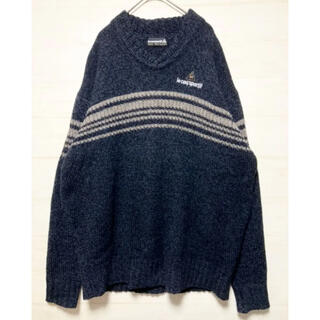 ルコックスポルティフ(le coq sportif)のルコック スポルティフ ニット セーター メンズ サイズXL オーバーサイズ(ニット/セーター)