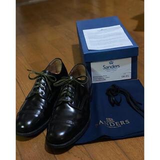 サンダース(SANDERS)のsanders サンダース ミリタリーダービー 革靴 u.k8.5(ドレス/ビジネス)