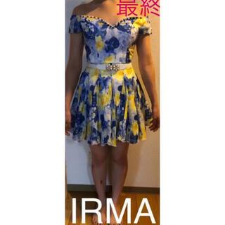 アンディ(Andy)の【美品】IRMA フレアワンピース ドレス ワンピース キャバ キャバドレス(ミニドレス)