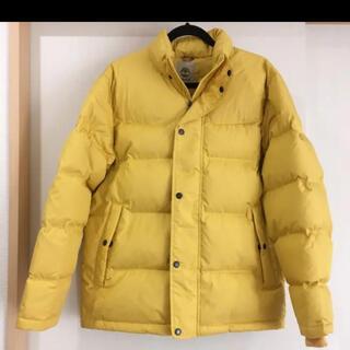 ティンバーランド(Timberland)のティンバーランド ダウンジャケット イエロー 黄色 メンズ(ダウンジャケット)