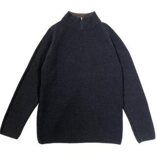 Jil Sander - allegri reversible half zip knit