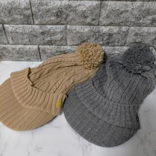 ルコックスポルティフ(le coq sportif)のルコック ニット帽 色違い2個セット(その他)