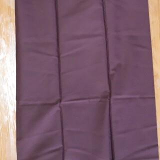 焦げ茶色 無地 生地 綿100% 113×120cm 布 ハギレ 手芸 裁縫(生地/糸)
