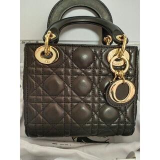 Dior - Lady Dior カナージュ ミニ 2Way ハンドバッグ