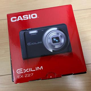 CASIO - デジタルカメラ 新品・未使用 CASIO EX-Z27 シルバー