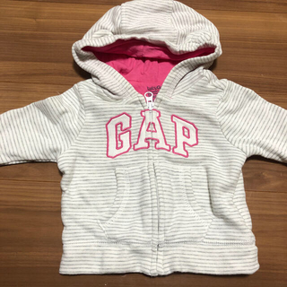 ベビーギャップ(babyGAP)のGap パーカー 3-6ヶ月(ジャケット/コート)