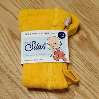 キャラメルベビー&チャイルド(Caramel baby&child )のsilly silas ブレースタイツ シリーサイラス 新品 1-2y(靴下/タイツ)