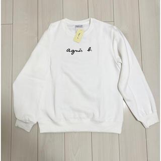 アニエスベー(agnes b.)のagnes b.新品 タグ付き トレーナーM(スウェット)